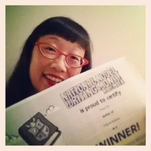 """I """"won"""" NaNoWriMo 2013! Yay! :)"""