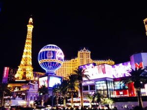 Las Vegas comes alive at night!