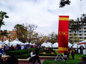 Welcome to the beautiful USC Campus and the LA Times Festival of Books!