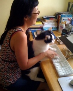 Confession: I admit it. Everything I've ever written was really written by Oreo. He is my Cyrano! :)