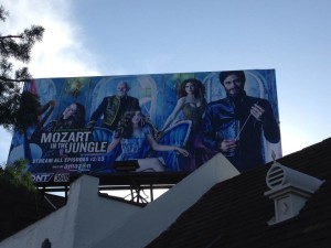 I had the privilege of working on the show Mozart in the Jungle on Amazon for its first season!