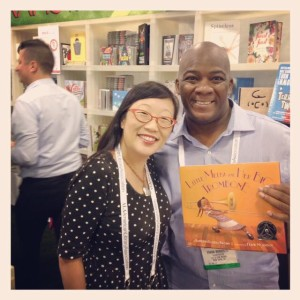 Honored to meet artist & Lee & Low illustrator Frank Morrison at the 2015 ALA Conference in San Francisco!