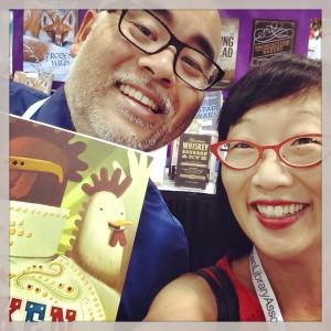Me & Caldecott Medalist author/illustrator/awesome dude Dan Santat at the 2015 ALA Conference in San Francisco!