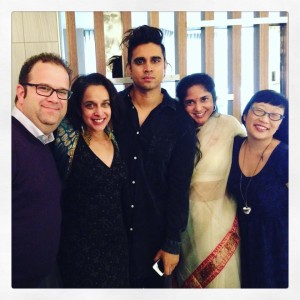 Our final lunch before parting ways. I'm grateful not only to have met these wonderful writers & librarians but also to have forged new lifelong friendships. (L-R: Kevin King, Tanuja Desai Hidier, Vivek Shraya, Padma Venkatraman, and Paula Yoo)
