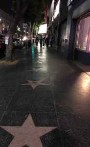Welcome to Hollywood Boulevard...